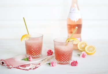 Easy to Make Frosé (Frozen Rosé Slushie Recipe)