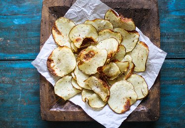 How to Make Healthy, Crunchy Potato Chips