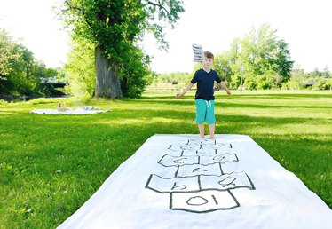 How to Make a Hopscotch Board