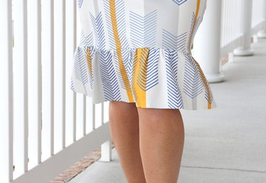 How to Make a Knit Pencil Ruffle Skirt