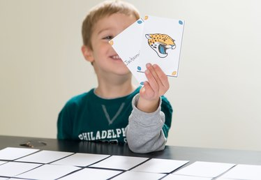 Free Printable NFL Memory Card Game for Kids