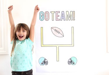 Printable Football Party Poster