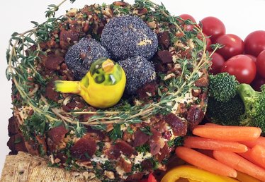 How to Make a Spring Thyme Cheese Ball