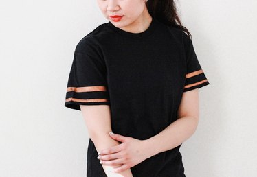Sporty Striped T-Shirt Tutorial