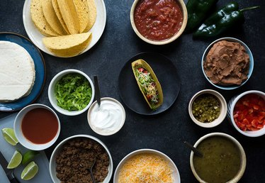 Taco Bar Party Tutorial