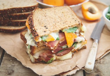 Add Apricots, Bacon and Brie to Your Grilled Cheese