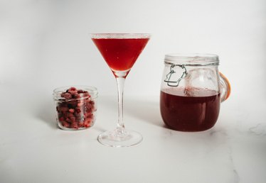 How to Infuse Vodka With Raspberry