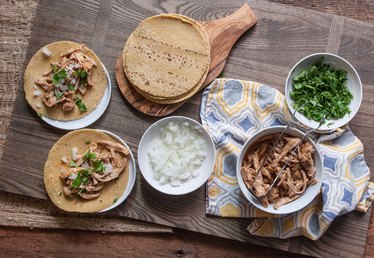 Easy to Make Shredded Chicken Tacos Recipe