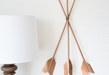 DIY Modern Arrow Wall Art