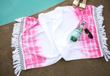 DIY Bohemian Beach Towel