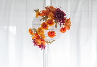 Fall-Inspired Paper Lantern Tutorial