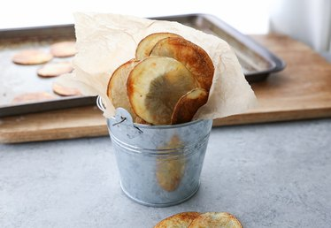 Healthy Eating: Baked Chips Recipe
