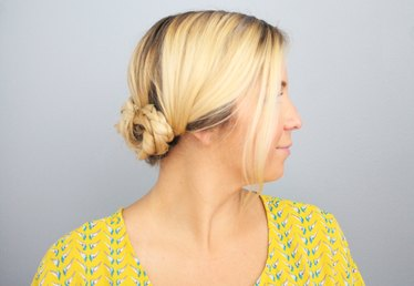 5-Minute Braided Updo