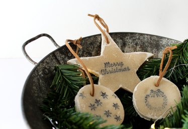 Decorate Your Christmas Tree With No-Bake Salt Dough Ornaments