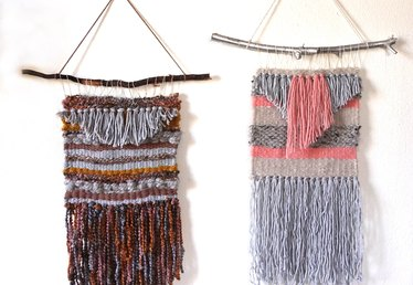 Weave Your Own Easy Wall Hanging Tutorial