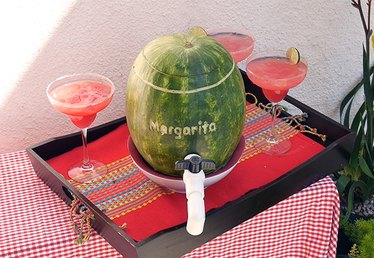 How to Make a Watermelon Margarita Keg