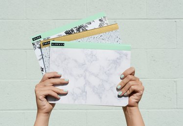 An Easy and Creative Way to Customize Your School Notebooks