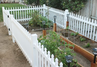 How to Build a Fence to Keep Small Animals Out of the Garden