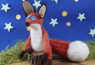 How to Make Felted Wool Animals