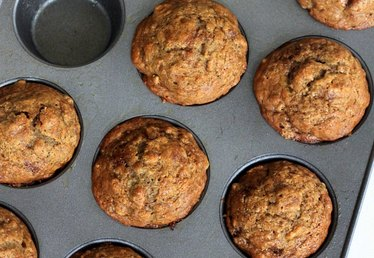 Bananas and Nuts Create the Perfect Combo in This Muffin Recipe