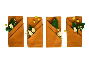 Charming Napkin Folding Tutorial for Your Fall Table