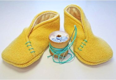 These Felt Baby Slippers Are Sew Cute: A Free Tutorial