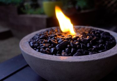 Tabletop Concrete Fire Bowl