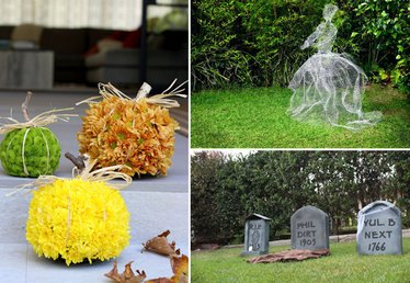 How to Turn Your Front Yard Into a Halloween Masterpiece