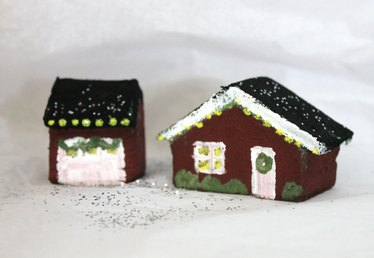 How to Create a Christmas Village With Styrofoam