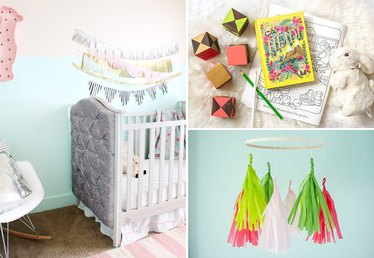 11 Surprisingly Easy DIY Ways to Decorate a Nursery