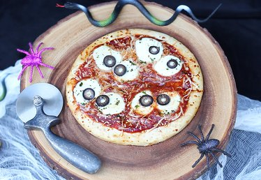 Edible Eyeball Pizza Recipe