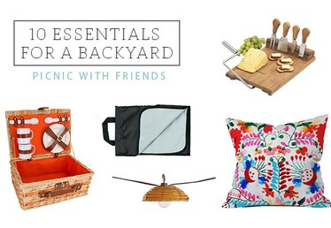 Table-less Spring Entertaining: 10 Essentials for a Backyard Picnic With Friends