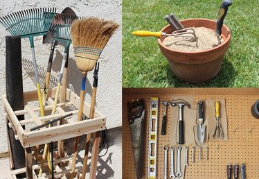 How to Properly Store Garden Tools