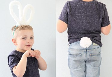 How to Make Bunny Ears & Tails