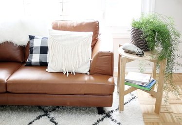 DIY Space-Saving Collapsible Side Table