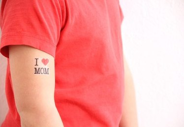 Free Printable Mother's Day Temporary Tattoos