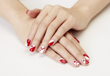 Nail a Cute Valentine's Day Nail Mani With This Tutorial