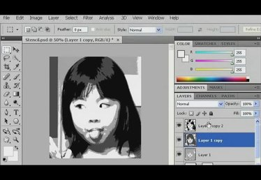 How to Create a Multilayer Stencil in Photoshop