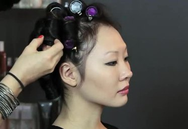 Professional Hot Rollers for Waist-Long Hair