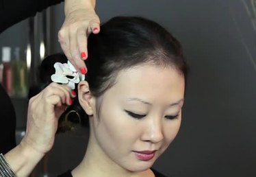 How to Put an Orchid in Your Hair