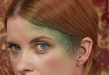 How to Make Snake Skin Pattern Makeup