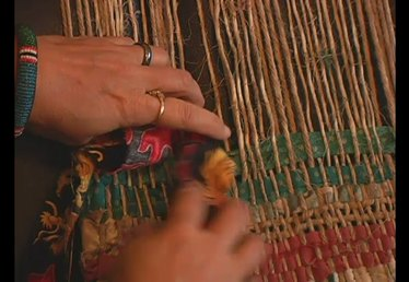 How to Insert Rags into a Frame Loom