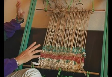 Materials & Techniques for Weaving on a Frame Loom