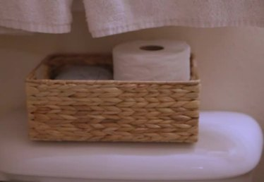 What Can You Use to Store Toilet Paper in a Small Bathroom?