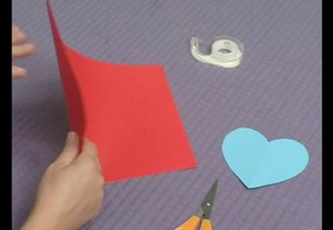How to Make a Pop-Up Heart Card: Part 1