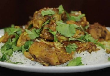 Recipe for Indian Curry Chicken