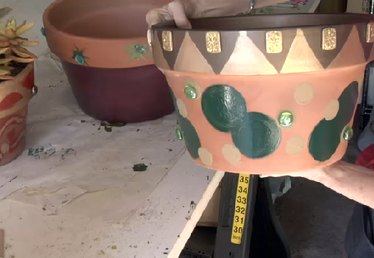 How to Paint & Decorate Terra Cotta Flower Pots
