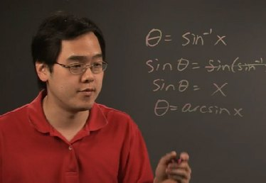 How to Get Rid of an Inverse Sine in an Equation