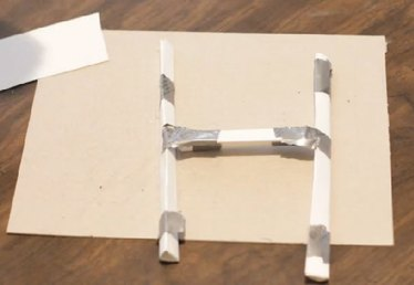 How to Make a Paper Football Goal Post