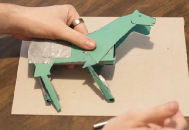 How to Make a Paper Horse